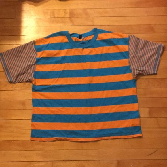 dc9463555 BDG boston oversized striped ringer tee. M_5ace59e56bf5a62db96c9260